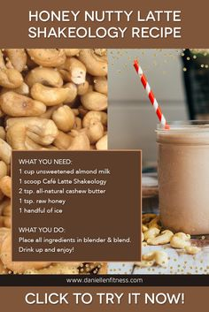 Café Latte Shakeology is Beachbody's newest Shakeology flavor. Coffee fruit is now a special ingredient added for incredible health benefits and that robust cup of joe flavor! Are you a coffee lover? If you said YES, this is a must try!! And enjoy this amazing shakeology recipe! // shake recipes // smoothie recipes // breakfast recipes