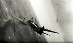 "Mistel A Ju88 ""Mistel"" goes down over Belgium in late 1944. The Bf109 ""guide ship"" has detached and was shot down as well. Two other Ju88/Bf109 combinations were caught and downed on this mission."