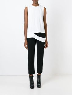 proenza schouler drop hem tank top - Google Search
