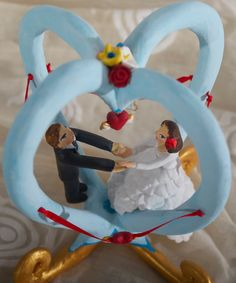 Items similar to personalized bride and groom, wedding cake topper, wedding decoration, custom cake topper on Etsy
