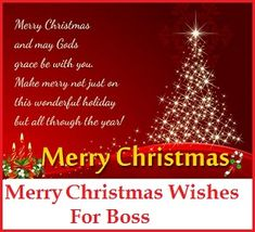 Christmas Thank You Messages: Merry Christmas Wishes For Boss Christmas Thank You Messages: Merry Christmas Wishes For Boss Merry Christmas Wishes Messages, Chrismas Wishes, Happy Holidays Wishes, Merry Christmas Quotes, Merry Christmas Greetings, Christmas Messages, Merry Christmas To You, Christmas Jesus, Message For Boss