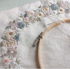 Beautiful hand embroidery and stitching ideas and inspiration