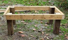 Step by step to make a stanchion or goat milking stand.