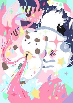 Bee and Puppy cat : Puppycat! by IllilazBooby on DeviantArt Cartoon Shows, Cute Cartoon, Good Cartoons, Bravest Warriors, Kawaii Art, Magical Girl, Cute Wallpapers, Comic Art, Character Design