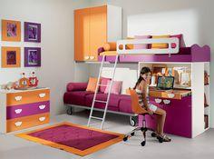 Italian Kids Bedroom VV Composition G077 - $3,549.00