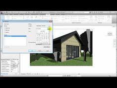 Revit 2012 - Rendering - Part 2 - Graphical Options (created by Dovile Puraite).mp4