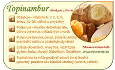Info topinambur Raw Food Recipes, Healthy Recipes, Dieta Detox, Food Art, Gardening Tips, Ale, Fitness, Fruit, Ethnic Recipes