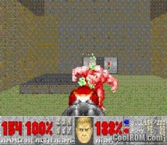 Doom 2 for GBA Ingame Screen