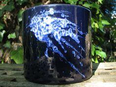 Mid Century Planter – Vintage Marei West German Pottery – 1950s 1960s – WGP Fat Lava – Blue – Modernist Design – Sixties Home Decor von everglaze auf Etsy