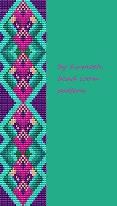bead loom pattern by Humosh by Humosh on Etsy