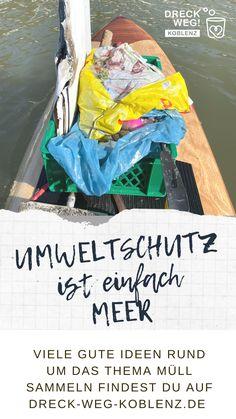 Unsere Ozeane schlucken täglich unfassbare Mengen Müll. Wir zeigen dir, wie du jeden Tag etwas für unsere Meere, für unsere Unwelt und ganz nebenbei etwas für deine Gesundheit tun kannst. Schau mal rein und mach mit. Environmentalism, Health