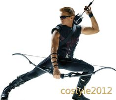 CUSTOM The Avengers Hawkeye Cosplay costume Clinton Francis Barton COS Any Size #Unbranded #CompleteCostume