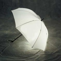 A light-up umbrella by Bright Night!  In black or white!