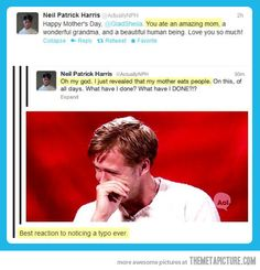Ladies and gentlemen, Neil Patrick Harris…