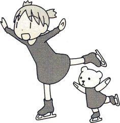 #Yotsubato! #Yotsuba&! #FigureSkating