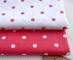 Cotton Fabric square fat quarter bundles / by PreciousSerenity, £2.99