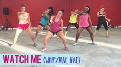 Silento - Watch Me (Whip/Nae Nae) | Dance Fitness with Jessica