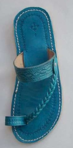Beautiful women sandals. This one is similar to Indian style (Kolhapuri chappals)