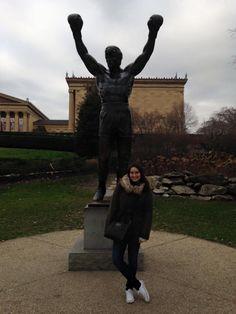 Rocky Steps, Philadelphie