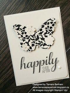 Tamara's Paper Trail: Bloomin' Heart Butterfly