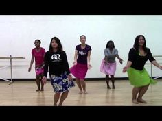 HOT HULA fitness Dance Workout - Week 7 - Part 1 - YouTube