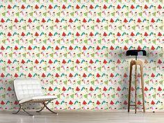 Design #Tapete Süsse Weihnacht