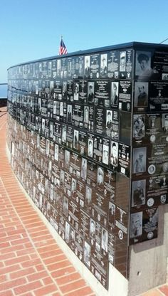 Honor Plaques on Mt. Soledad Veterans Memorial Walls. My Dad is going to be added to this wall in the summer!!!