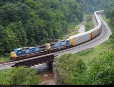 RailPictures.Net Photo: CSXT 9018 CSX Transportation (CSXT) GE C40-9W (Dash 9-40CW) at Foley, Pennsylvania by Jacob Kempf
