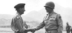 Patton and Montgomery: Fighting the Nazi Army (And One Another) - Warfare History Network Bernard Montgomery, George Patton, Field Marshal, National Review, British Prime Ministers, Shake Hands, Warfare, World War Ii, American History