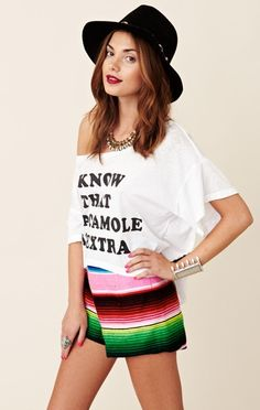 I know that guacamole is extra...love this tee