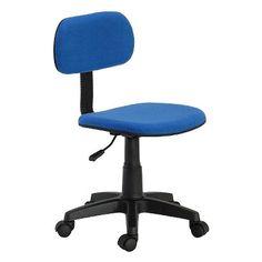 Hodedah Import Task Chair - Blue
