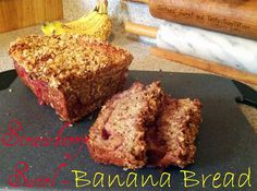 Sisters' Sweet and Tasty Temptations: Strawberry Swirl Banana Bread
