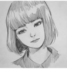 Art Anime Drawings Sketches, Girly Drawings, Pencil Art Drawings, Anime Sketch, Manga Drawing, Manga Art, Pencil Drawing Tutorials, Wow Art, Art Sketchbook
