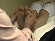 foot reflexology massage techniques 1 - YouTube