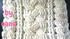 CROCHET How to #Crochet Cable Stitch Throw Accent Pillow #TUTORIAL #285 - YouTube