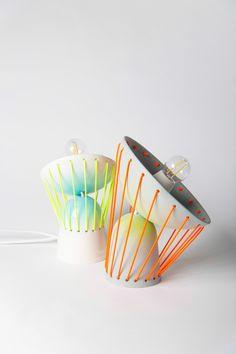 Elastic Ceramic Lights by Marta Bordes