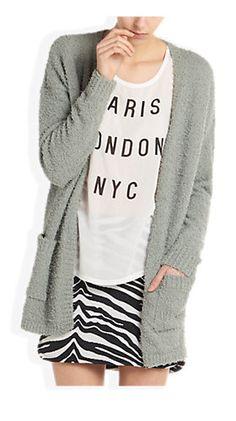 Soft Cardigan Groen - Costes Fashion