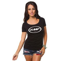 FMF Women's Classic Don T-Shirt #Cutest #moto #tee #tshirt #clothes #fashion #tank #tanktop #shirt  #black #pink #white #teal #grey #gray #blue #fall #winter #summer #spring #floral