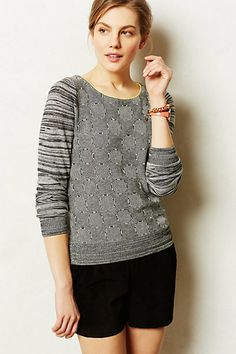 Spring Essentials: Graphic Pullover-- Tilly Pullover #anthropologie