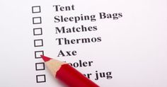 Camping Checklist - Essentials for Camping