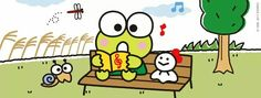 Keroppi Keroppi Wallpaper, Favorite Cartoon Character, Sanrio Characters, Kawaii, Comics, Friends, Illustration, Rompers, Amigos