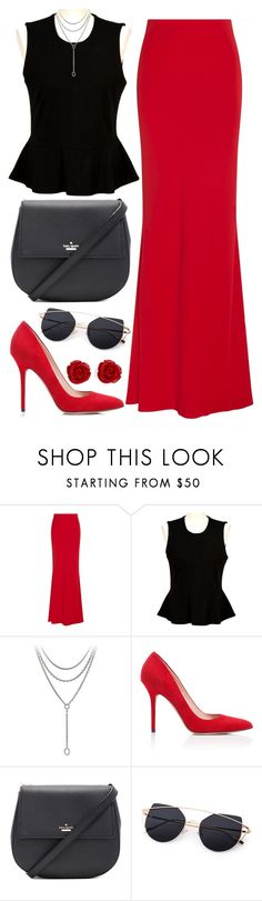 """""""Senza titolo #562"""" by coolerthanice98 ❤ liked on Polyvore featuring Alexander McQueen, French Connection, David Yurman, Tamara Mellon, Kate Spade and Brooks Brothers"""