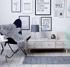 Framed words in the living room!? #home #decor #living
