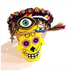 Evil eye protection bracelets, Friendship Bracelet - Bracelet with Tassel, Rhinestone friendship bracelet on Etsy, ฿1,333.00
