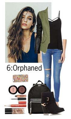 """Teen wolf"" by teddy-bear-princess on Polyvore featuring Mode, Hudson Jeans, NIKE, Stila, Casetify und Preen"