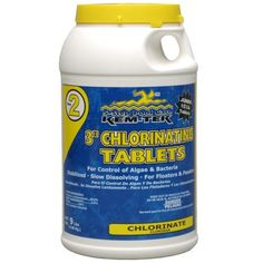 Kem-Tek 095 3-Inch Chlorinating Tablets for Pool and Spa, 9-Pound by Kem-Tek.  Tyner Fountain...