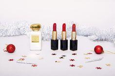 Grand Jeu Calendrier de l'Avent 2016 - Jour #9 : Estée Lauder & AERIN Parfum Rose, Estee Lauder, Lipstick, Advent Calendar, Lipsticks