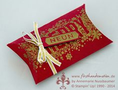 Stampin' Up! by First Hand Emotion: Pillow Box, 24 Türchen