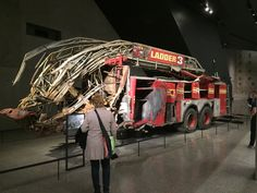 A couple of ours at the 9/11 Memorial Museum...