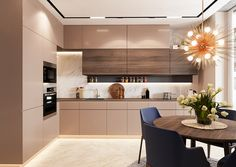 The Simple Ways to Understanding Kitchen Trends For 2019 Diaries - homesuka Kitchen Room Design, Kitchen Dinning, Kitchen Cabinet Design, Modern Kitchen Design, Living Room Kitchen, Home Living, Home Decor Kitchen, Interior Design Kitchen, Home Kitchens